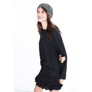 Madewell Donegal Northroad waffle knit pullover L